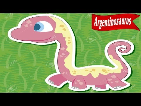 (Dinosaurs for Childrens CN) ! Dinosaur Cartoons Collection for Childrens #8: ARGENTINOSAURUS