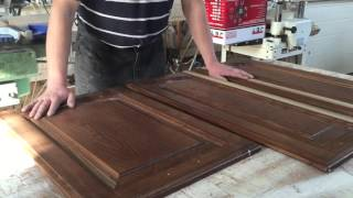видео Реставрация кухонной мебели