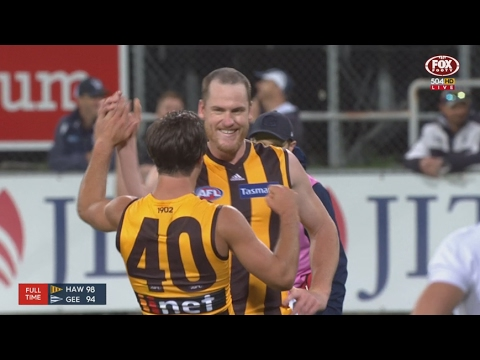 JLT Community Series 2017: Week 1 - Hawthorn highlights vs. Geelong