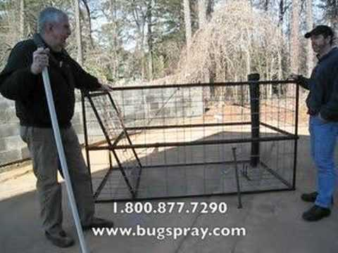 Hog Trap owner interview and product demonstration.