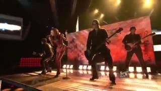 Amanda Brown: Here I Go Again - The Voice USA Season 3 03-12-2012 Top 6