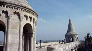 漁夫の砦よりドナウ川を眺める【HD】