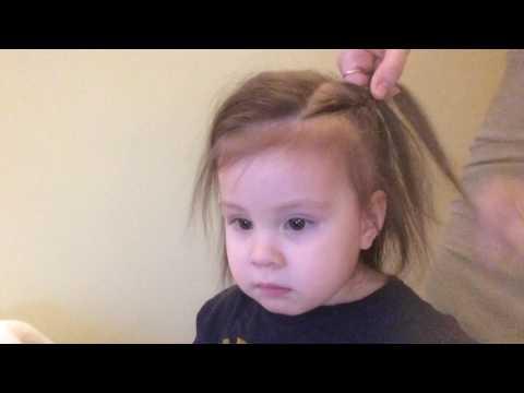 Как заплести ребенка на короткие волосы