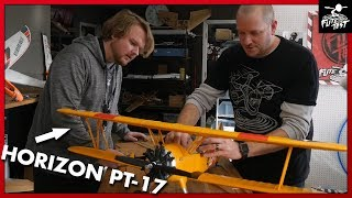E-Flite PT-17 1.1m Stearman by Horizon Hobby | FLITE TEST