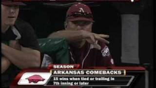 Arkansas - Virginia College World Series 2009