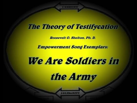 We Are Soldiers in the Army