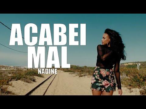 "NADINE ""ACABEI MAL""  VIDEO OFICIAL (B26)"