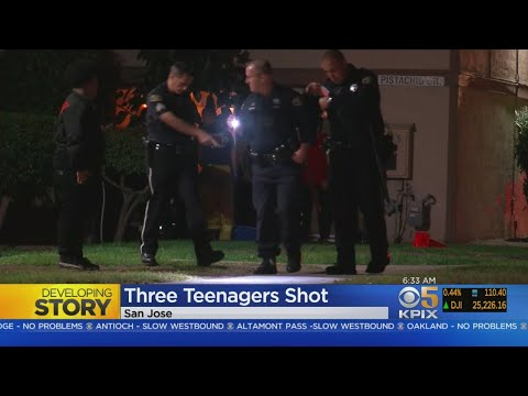 3 Teens Shot In San Jose On Halloween Night