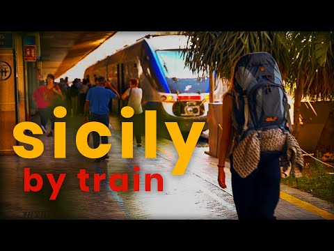 Public Transport In Sicily, My Experience   Italy Travel Film   Sony A7III
