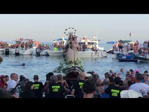Procesión de la Virgen del Carmen de la Almadraba de Ceuta 2019