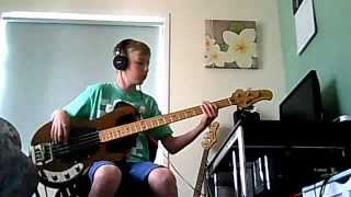 Split Enz: Dirty Creature Bass cover Pre EB