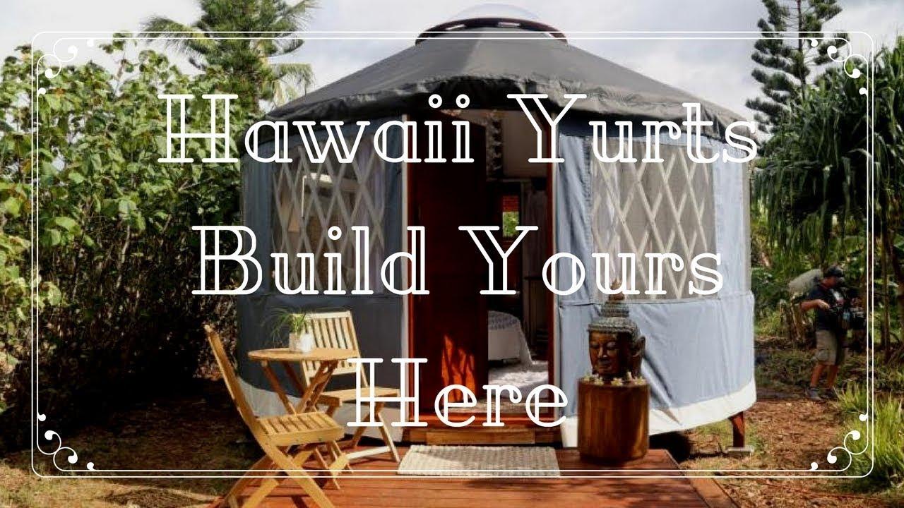 Sold Glamping Hawaii Yurt Land