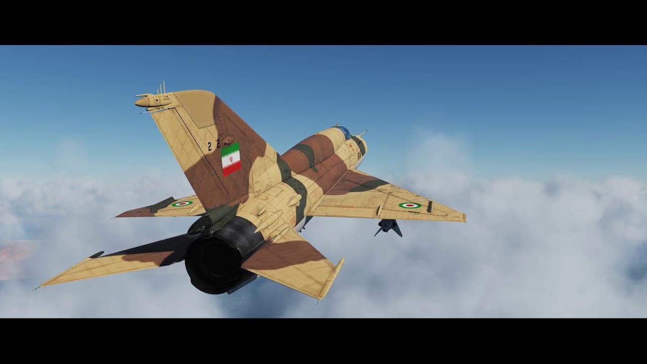 DCS Iran-Iraq War Episode 1: Failed Mission (MiG-21)