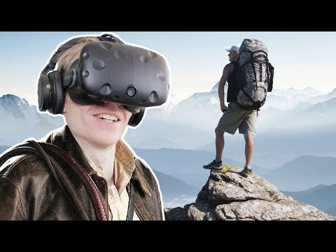 CLIMBING, EXPLORING AND LOOTING A CAVE IN VIRTUAL REALITY!   Echo Grotto VR (HTC Vive Gameplay)