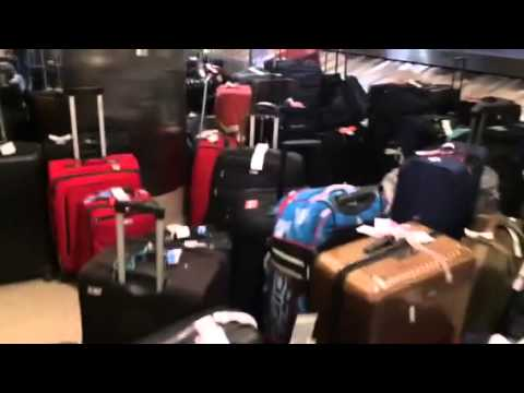 American Airlines Lost Luggage At Lax Youtube