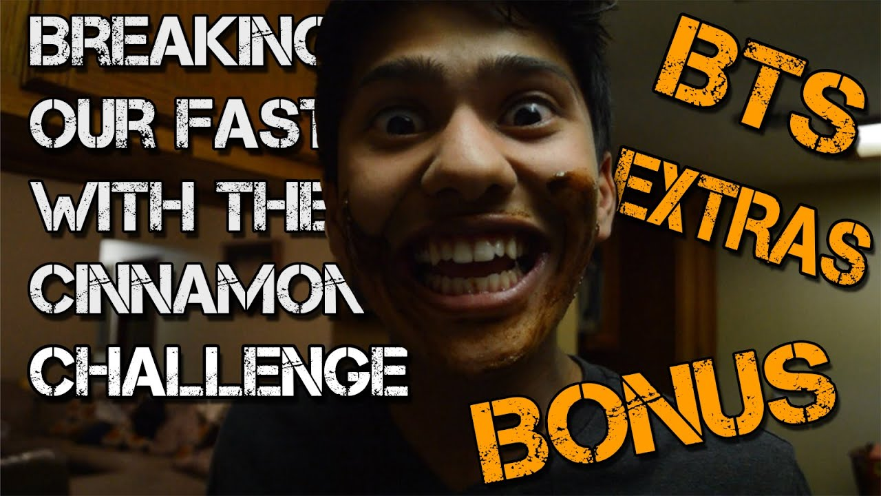 Breaking our fast w the cinnamon challenge bonus extras bts