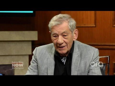 Ian McKellen: Fans Think I Was in Harry Potter   Larry King Now   Ora.TV
