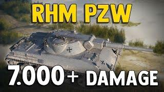 World of Tanks || Rhm. Pzw. 7,5k damage, 4 kills