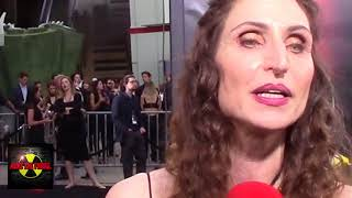 "Bonnie Aarons ""Demon Nun"" Talks Horror at the premiere of Stephen King's IT"