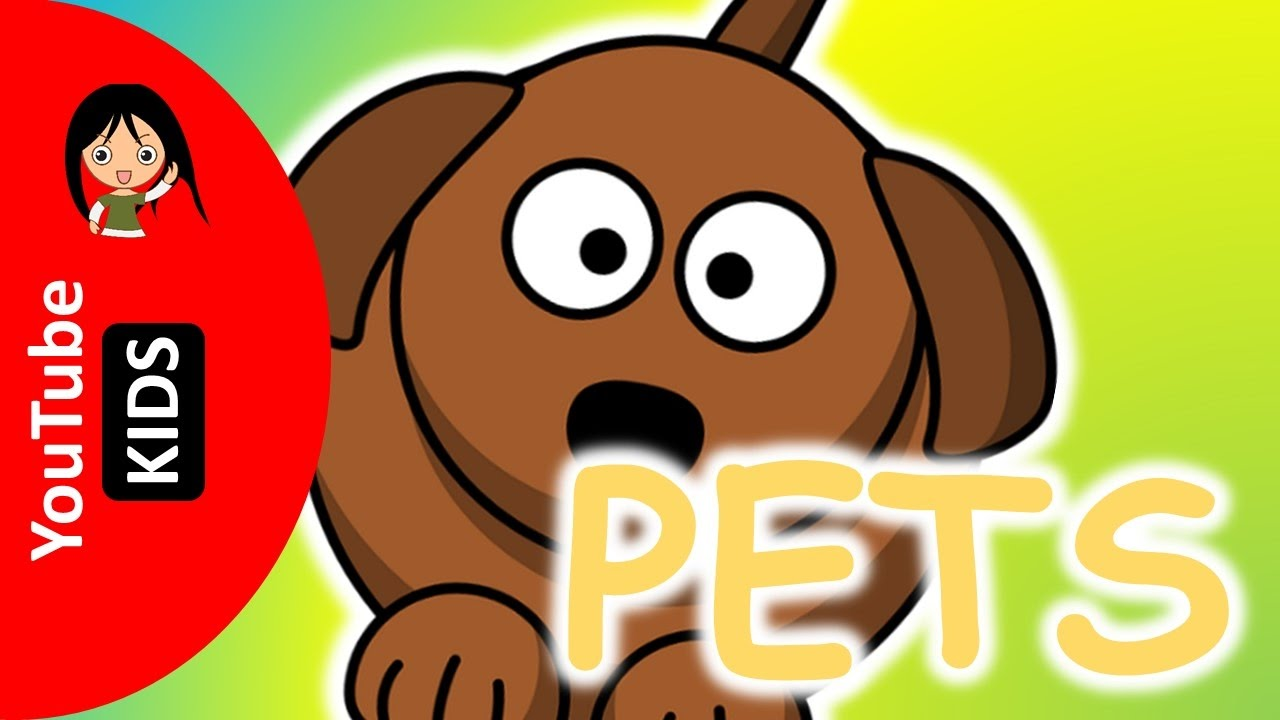 Learn Pet Animals Names and Sounds with Actual Pictures - YouTube Kids