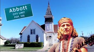 1223 WILLIE NELSON Hometown, House & First Performance ABBOTT TX - Jordan Travel Vlog (1/6/20)