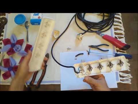 Circuito Zapatilla Electrica : Como reparar zapatilla eléctrica youtube