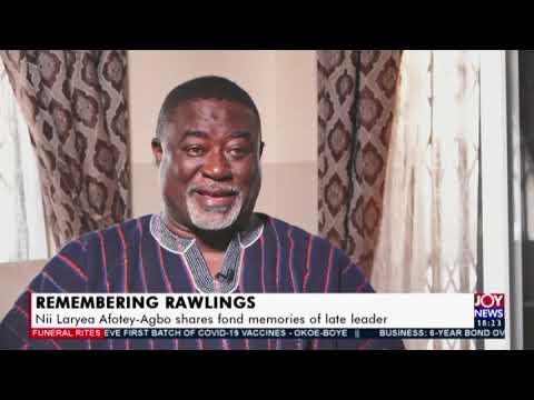 Mourning Rawlings Vigil in honour of late President underway – The Probe JoyNews (24-1-21)