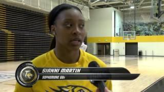 Towson Women's Basketball alum, Tanisha McTiller returns to campus