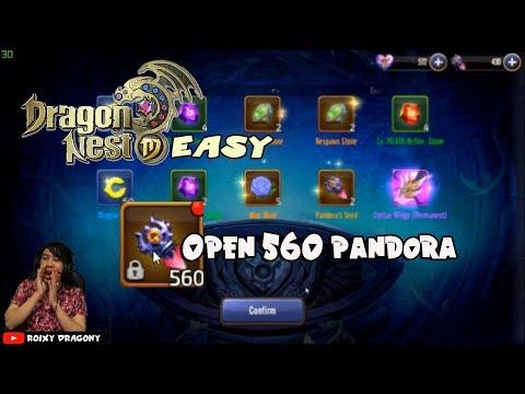 GACHAA GACHAA GACHAAA !!! Buka 560 Pandora - Dragon Nest M EASY !!!