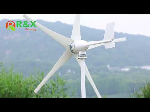 Small 1KW Home Wind Turbine Generator with Large Power ...