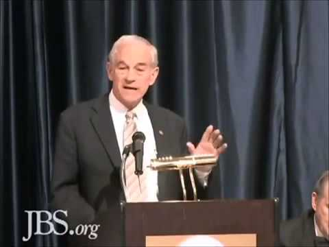 Ron Paul on the Importance of the John Birch Society