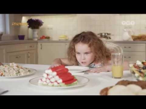 Реклама крабовых палочек Вичи / Vici + новое новогоднее лого ТЕТ (26.12.16)