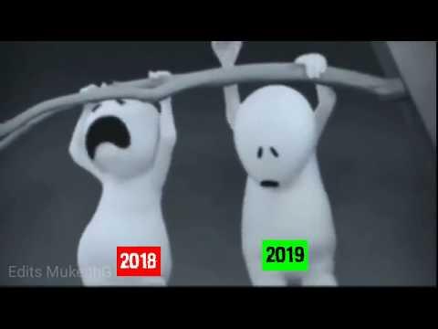 Happy new year 2019 funny WhatsApp status    New on YouTube    Edits Mukesh