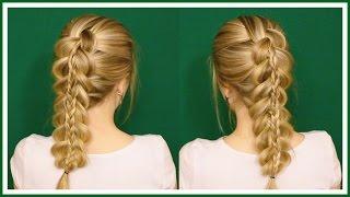 видео Французская коса своими руками