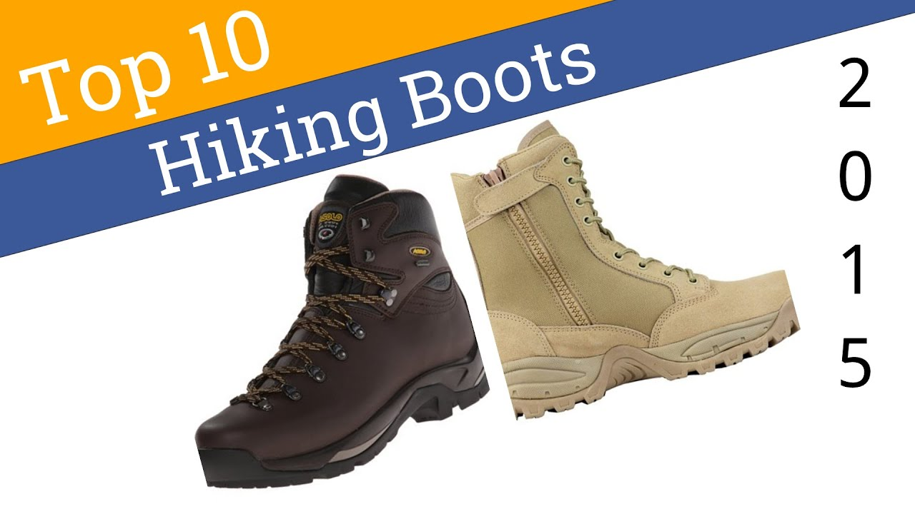 10 Best Hiking Boots 2015 - YouTube