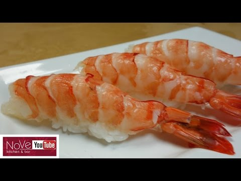 How To Prepare/Cook Shrimp For Nigiri Sushi - How To Make Sushi Series