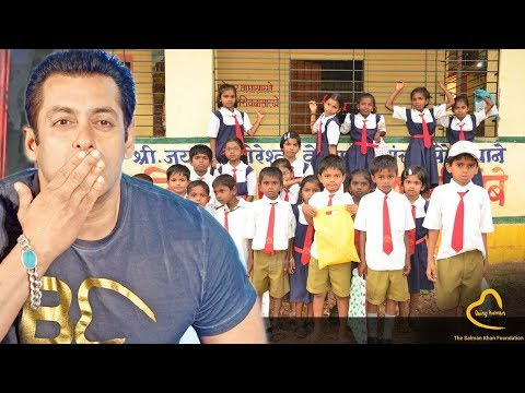 Salman's Being Human Foundation Learning Centres Celebrates Children's Day