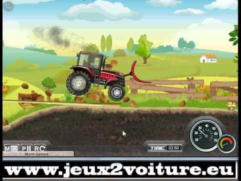 Jeu gratuit de tracteur tractors power 2 sur - Jeux de tracteur agricole gratuit ...