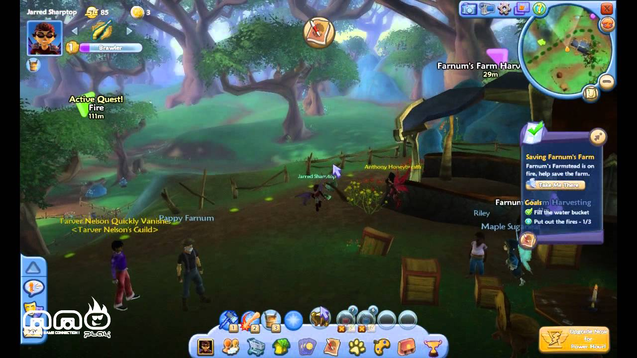 Free Realms Gameplay First Look