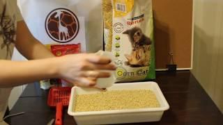 Кошачий наполнитель Benek Corn