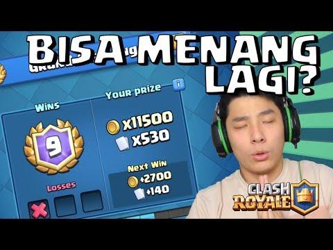 BISA MENANG GRAND CHALLENGE LAGI? • Clash Royale Indonesia - 동영상