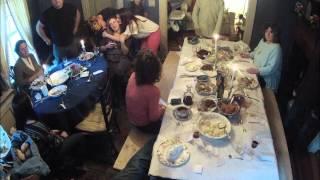Thanksgiving Dinner Timelapse (2012)