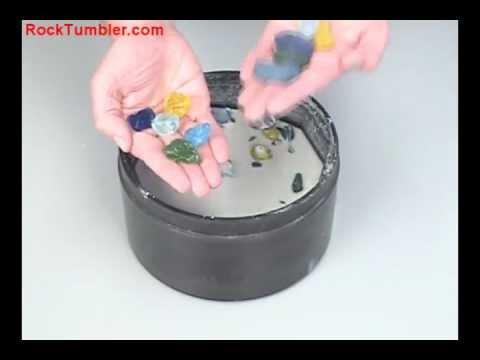 Making Tumbled Glass in a Rock Tumbler