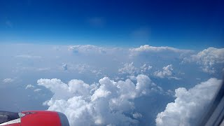 Heavenly Kashmir-Air India Delhi to Srinagar Himalayan Ranges Over the top Views