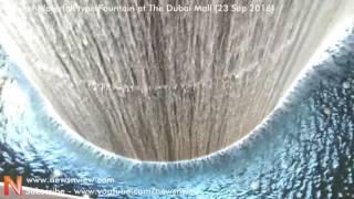 Fountain at The Dubai Mall | Biggest Waterfall Fountain | Dubai Shopping Mall