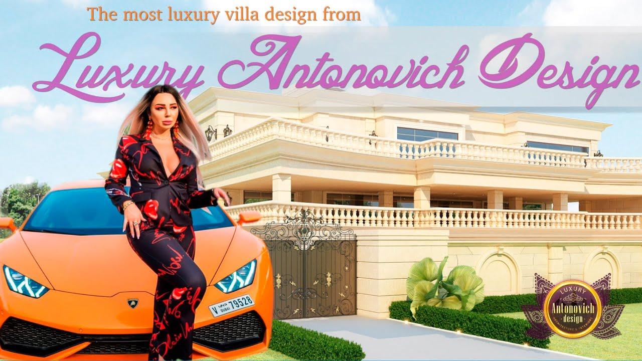 Fantastic House from Luxury Antonovich Design!