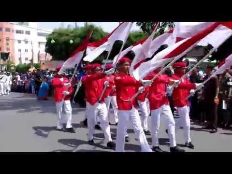 Pawai Kemerdekaan 17 agustus (tebing tinggi)