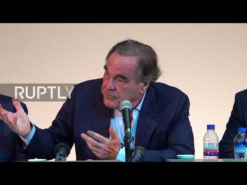 Iran: Oliver Stone in disbelief over Macron's comments on Iran deal
