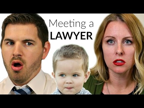 Meeting a LAWYER: KIDS PRETEND!!