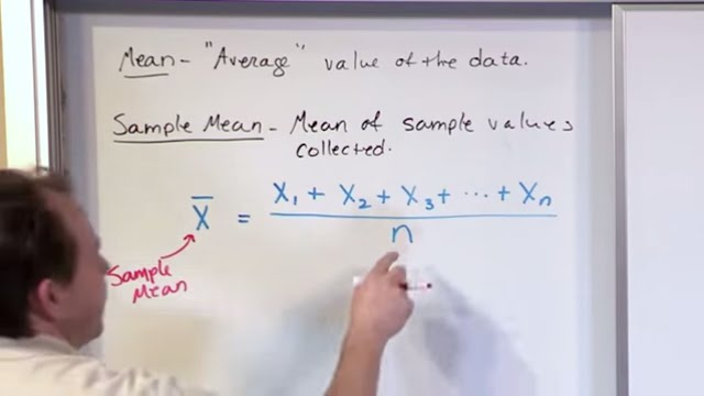 Lesson 10 - Statistics Population Mean & Sample Mean